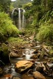 Waterval in banos DE agua santa royalty-vrije stock fotografie