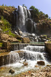 Waterval in bergen Royalty-vrije Stock Fotografie