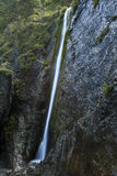 Waterval in bergen Royalty-vrije Stock Foto