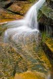 Waterval in bergen royalty-vrije stock foto
