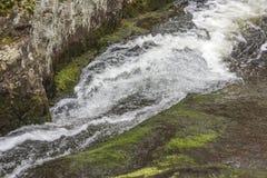 Waterval Bevroren Actie stock foto's