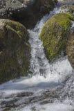 Waterval Bevroren Actie royalty-vrije stock foto