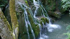 Waterval Bigar, Roemenië 7 stock footage