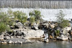 Waterval bij de Dalingen van Idaho van Idaho Stock Fotografie