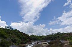 Waterval bij nongkhai in Thailand Stock Foto