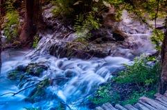 Waterval bij Plitvice-Meren Royalty-vrije Stock Fotografie