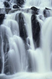 Waterval bij Schemer Royalty-vrije Stock Foto