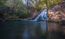Waterval in boscosta rica royalty-vrije stock foto
