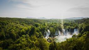 Waterval in Bosnië - Herzegovina royalty-vrije stock afbeelding