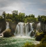 Waterval in Bosnië - Herzegovina Royalty-vrije Stock Foto's