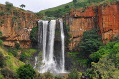 waterval bovervattenfall Fotografering för Bildbyråer