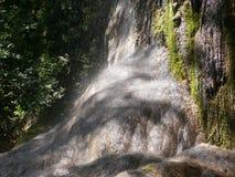 Waterval Cascata maggiore in Laconi, Sardinige, Italië Stock Foto's