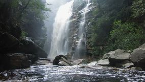 Waterval in Chapada Diamantina stock footage