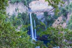 Waterval in Chili royalty-vrije stock afbeeldingen