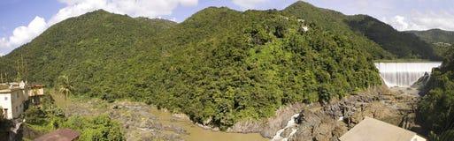 Waterval Comerio Puerto Rico royalty-vrije stock foto's