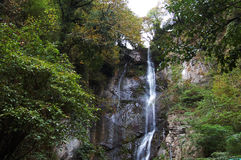 Waterval in de bergen Royalty-vrije Stock Foto