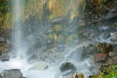 Waterval in de haven van de staken van Trueba Royalty-vrije Stock Foto