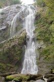 waterval in de Provincie van Kamphaeng Phet Stock Foto's