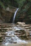 Waterval. De rivier van Rufabgo. Royalty-vrije Stock Foto's