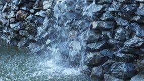 Waterval in de stad Stock Afbeelding