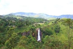 Waterval Devon, Sri Lanka Royalty-vrije Stock Fotografie