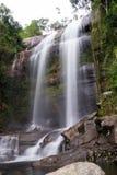 Waterval in Dos Orgaos van Parque Nacional DA Serra in Petropolis, Stock Foto's