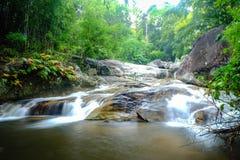 Waterval en het meest rainforrest Royalty-vrije Stock Foto's