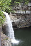 Waterval en klip Stock Foto