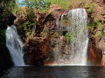 Waterval, Nationaal Park Kakadu Royalty-vrije Stock Foto's