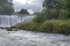 Waterval en Stroomversnelling van de Rivier van de Wortel in Lanesboro stock afbeeldingen
