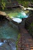 Waterval en Y -y-srairs Royalty-vrije Stock Fotografie
