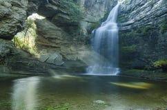 Waterval in Foradada Royalty-vrije Stock Foto's