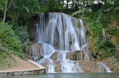 Waterval Gelukkig in Slowakije Royalty-vrije Stock Fotografie