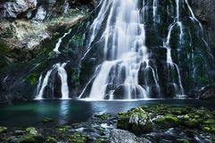 Waterval in Golling stock foto