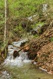 Waterval in Goshen-Pas stock afbeelding