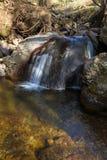 Waterval in het Italiaans berg stock fotografie