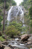 waterval in het Nationale Park van KlongLan Royalty-vrije Stock Afbeeldingen