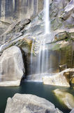 Waterval in het Nationale Park van Yosemite Stock Foto