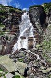 Waterval in Hoge tatras Stock Afbeelding
