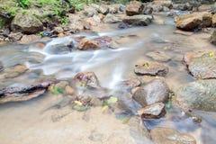 Waterval in Huay aan krabi Thailand Stock Foto's