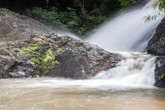 Waterval in Huay aan krabi Thailand Stock Foto