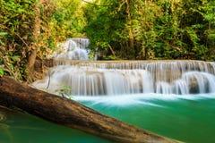 Waterval Huay Mae Kamin Royalty-vrije Stock Fotografie