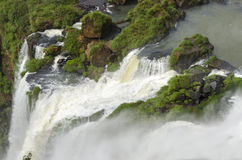 Waterval Iguacu Stock Afbeeldingen