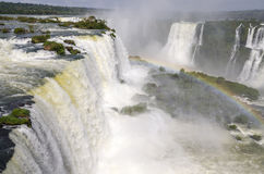 Waterval Iguacu Royalty-vrije Stock Foto