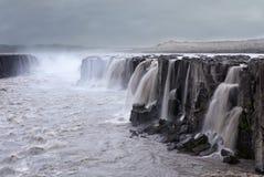 Waterval, IJsland Stock Afbeeldingen