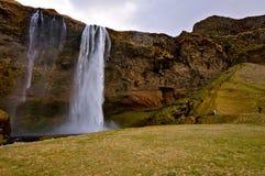 Waterval in IJsland Royalty-vrije Stock Foto