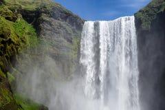 Waterval in IJsland Stock Fotografie