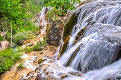 Waterval in Jiuzhaigou, Sichuan, China Royalty-vrije Stock Fotografie