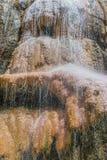 Waterval Jordanië van de Ma'in de hete lentes Royalty-vrije Stock Fotografie
