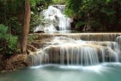 Waterval - Kanchaburi - Hua Mae Kamin Royalty-vrije Stock Foto's